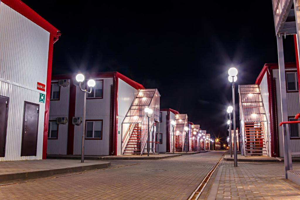 Отель New Tengiz Camp, Тенгиз, Казахстан