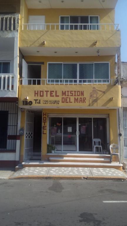 Отель Hotel Posada Mision del Mar, Веракрус