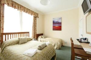 The Bedrooms at Prestwick Guest House