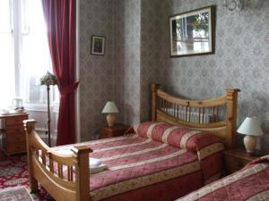 The Bedrooms at Corstorphine House Hotel