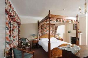 The Bedrooms at Old Brewery House Hotel