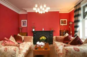 The Bedrooms at Ffarm Country House