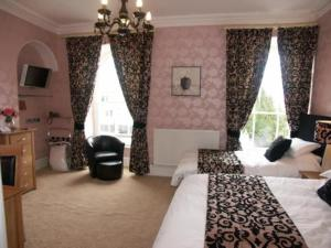 The Bedrooms at Llety Teifi Guesthouse