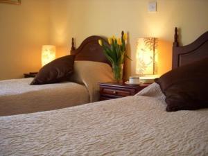 The Bedrooms at Dun Ri Guesthouse