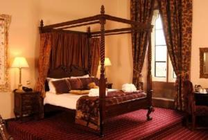 The Bedrooms at Peckforton Castle