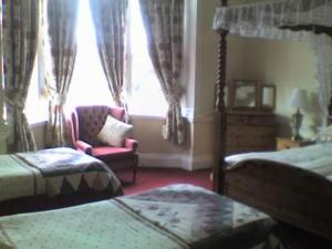 The Bedrooms at The Gallery Guest House