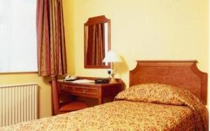 The Bedrooms at Comfort Inn Chester