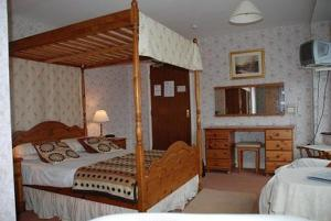 The Bedrooms at Liverpool House In Powys