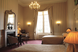 The Bedrooms at Donnington Grove and Country Club