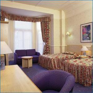 The Bedrooms at Barkston Garden Hotel