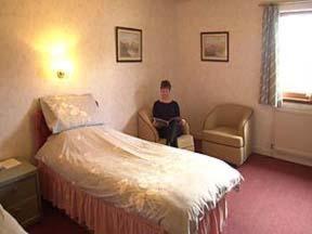 The Bedrooms at Balavil Hotel