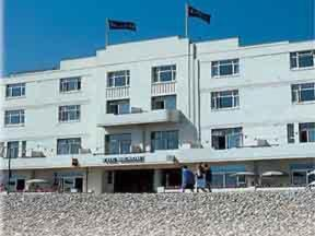 The Beach Hotel Commands Finest Seafront Location In Worthing And Is One Of Leading 3 Star Hotels Town Behind Elegant Fa Ade Lies All