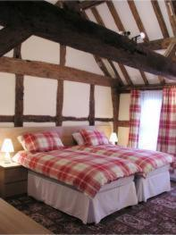 The Bedrooms at Coughton Lodge