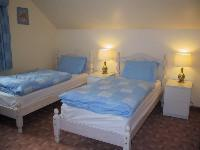 The Bedrooms at Foxglove Cottages