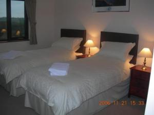 The Bedrooms at Anahilt Guest Lodge