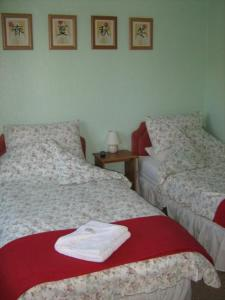 The Bedrooms at Apple Tree Lodge