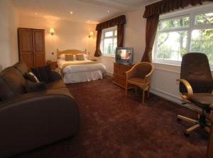 The Bedrooms at Best Western Bolholt Country Park Hotel