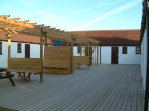 The Bedrooms at Dark Barn Lodge