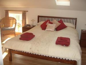 The Bedrooms at Chaplin House B and B