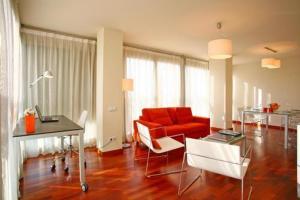 The Bedrooms at Apartamentos AR Barcelona