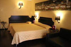 The Bedrooms at Hotel Lido
