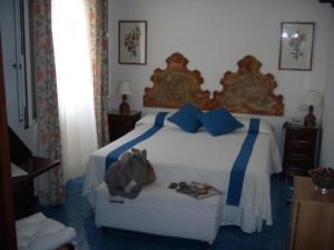 The Bedrooms at Grand Hotel Chiaia Di Luna