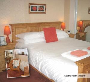 The Bedrooms at Heron Lodge Guest House