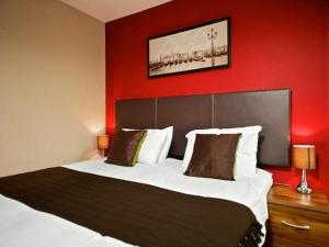 The Bedrooms at Mount Pleasant Apartments by Stay Liverpool