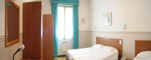 The Bedrooms at Hotel Mignon