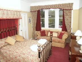 The Bedrooms at Nent Hall Country House Hotel