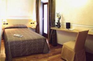 The Bedrooms at Villa Bregana