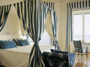 The Bedrooms at Grand Hotel Principe Di Piemonte