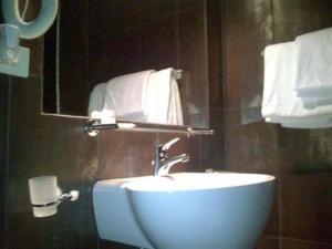 The Bedrooms at Hotel Flaminius