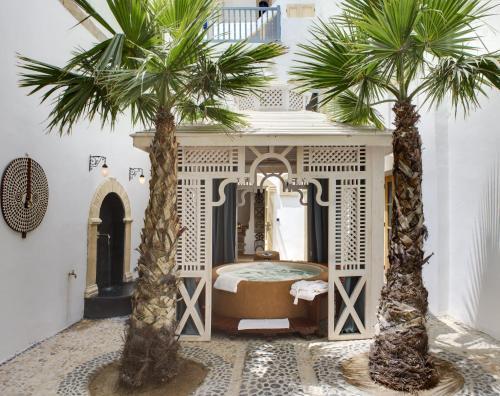 巴拉丁摩洛哥传统庭院住宅