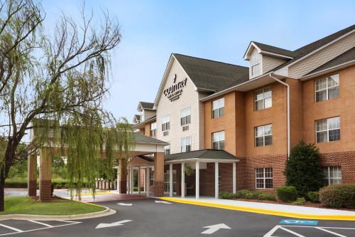 夏洛特大学江山旅馆与套房酒店