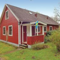 Four-Bedroom Holiday home with a Fireplace in Trensum
