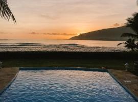 塔希提岛冲浪海滩天堂度假屋, Atimaono