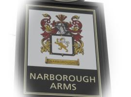 纳伯勒阿姆斯酒店, Narborough