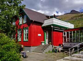 哈菲丹何旅舍 - 旧住院大楼, Seyðisfjörður