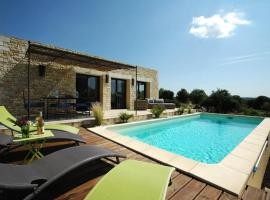 Contemporary villa with pool, close to historic villages of Ardeche, Orgnac-l'Aven