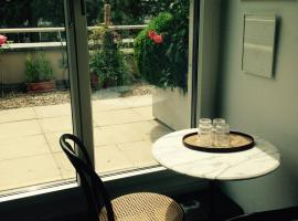 AVLiving City FLAT Basel with Roof Garden, 巴塞尔
