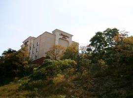 匹兹堡地区海狸谷镇中心希尔顿恒庭酒店, 莫纳卡