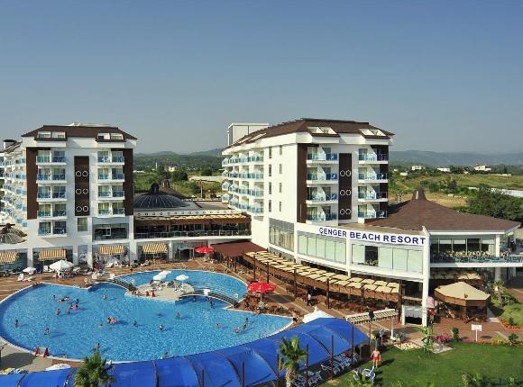 Курортный отель Cenger Beach Resort Spa