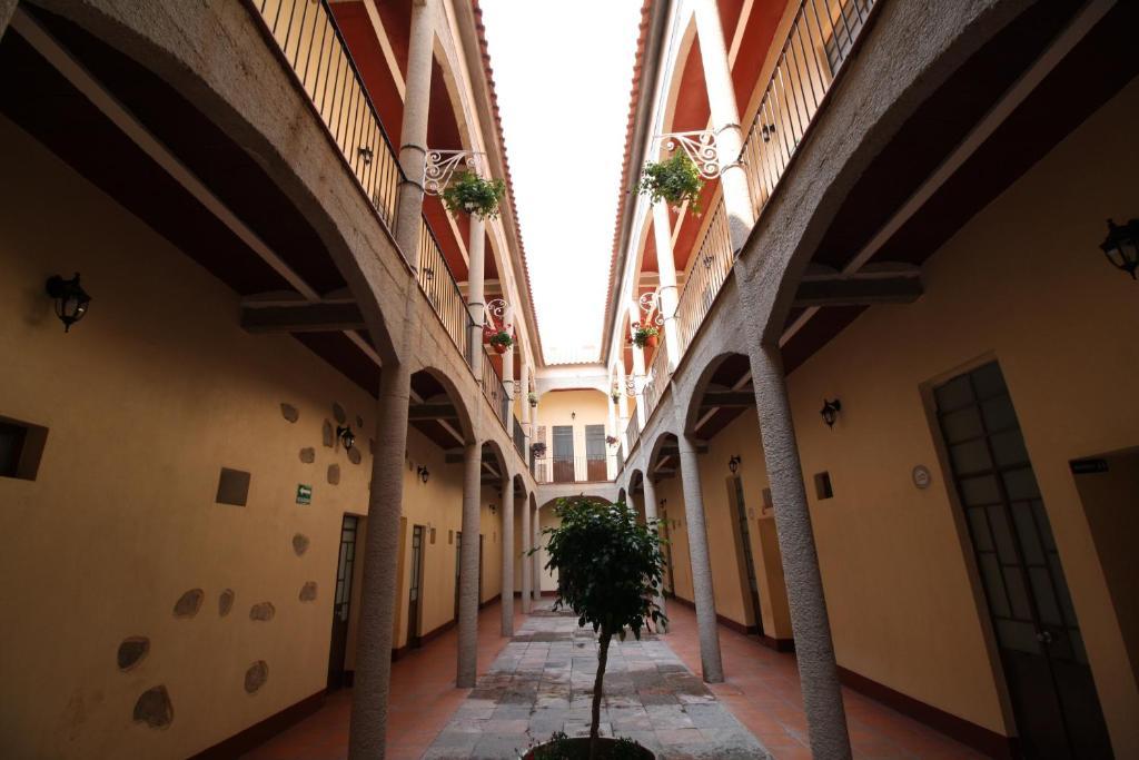Отель Hotel Rincón Poblano, Пуэбла