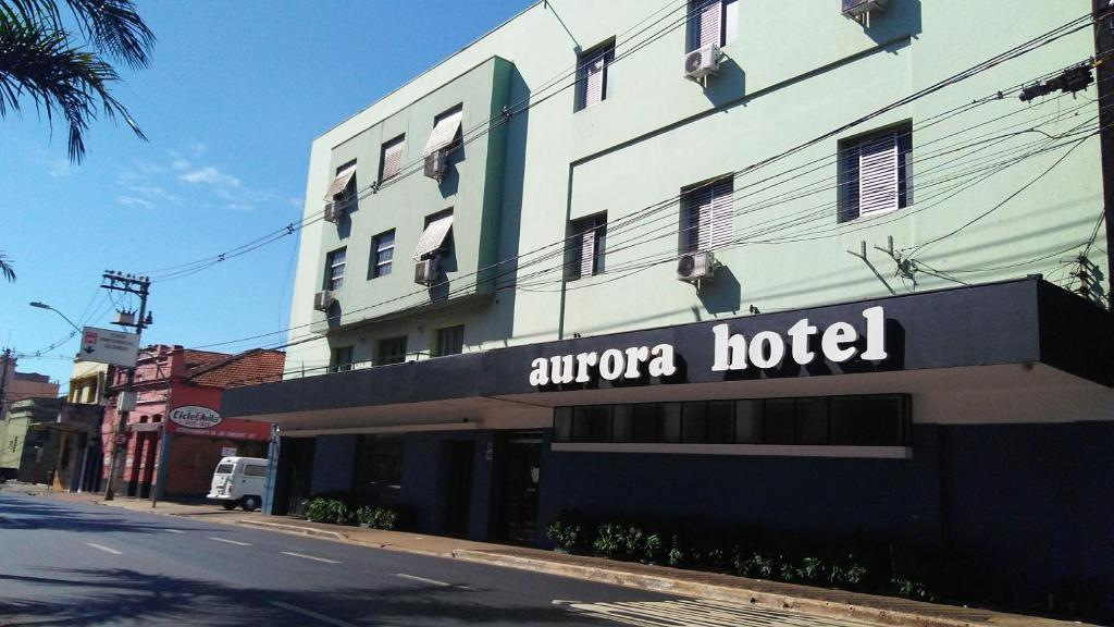 Отель Aurora Hotel, Рибейран-Прету