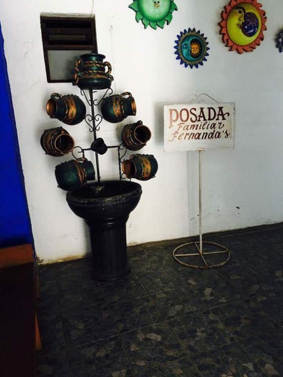 Отель Posada Familiar Fernandas, Валье-де-Браво