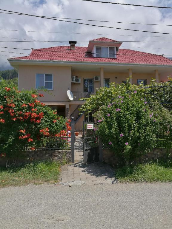 Отели и курорты Абхазии на карте