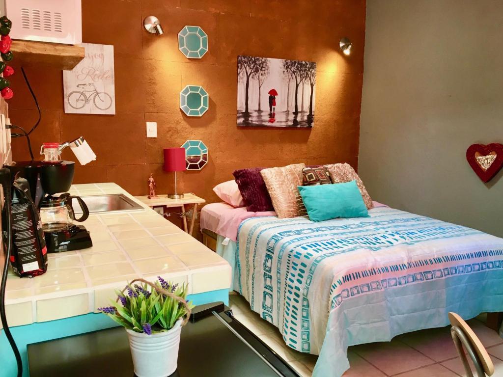 Апартаменты Habitación en el Centro Histórico Guanajuato, Гуанахуато