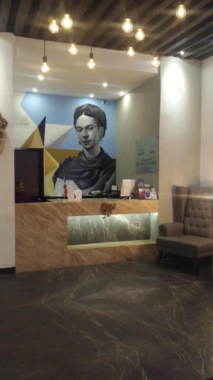 Отель Hotel Frida, Пуэбла