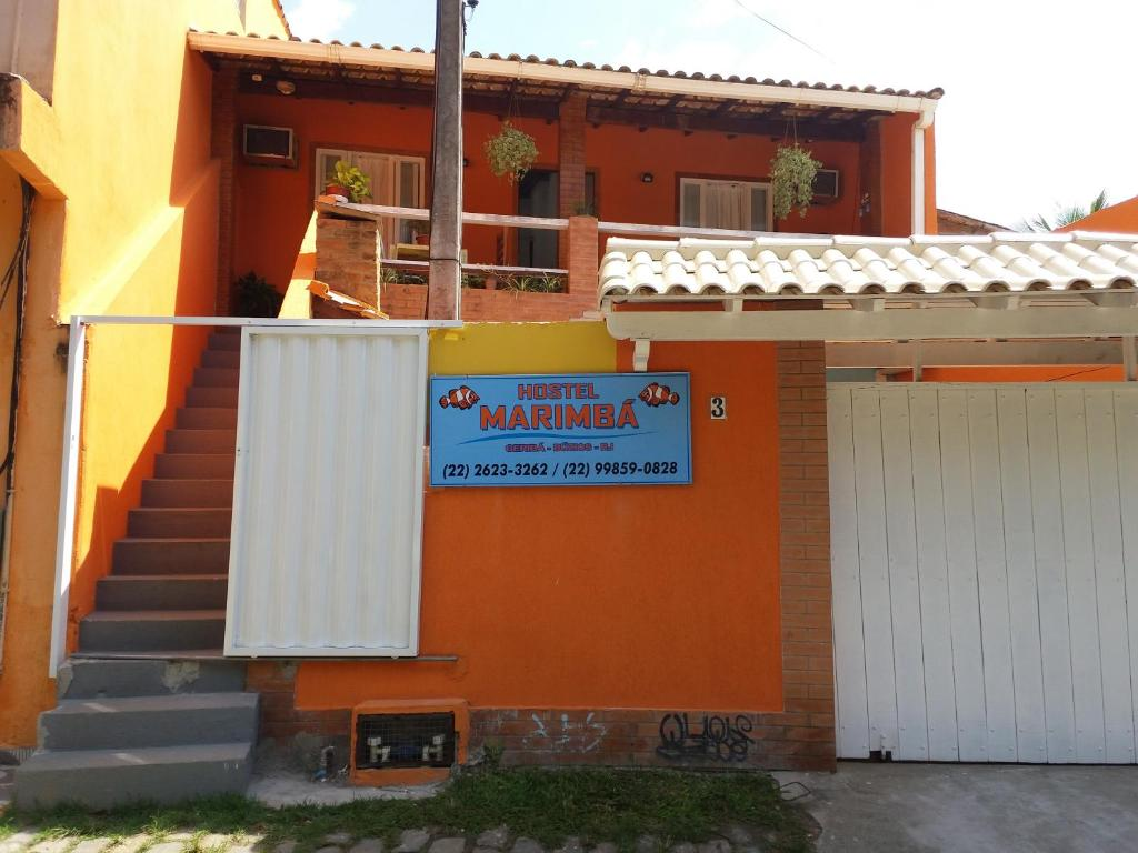 Хостел Hostel Marimba, Армасан-дус-Бузиус